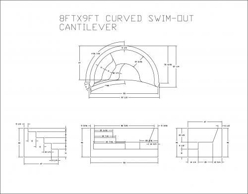 8FTX9FT CURVED SWIM OUT